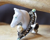 Righteous Ghost Horse Ring