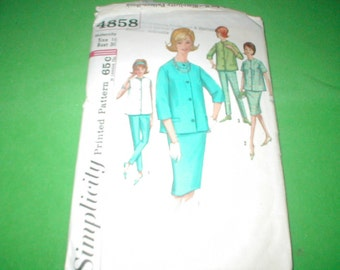 Vintage Simplicity Maternity Sewing Pattern