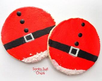 Laineys Santa OR Elf Suit Chips