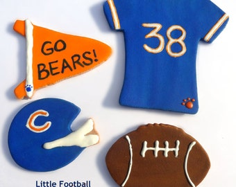 Laineys Little Football Cookie Package