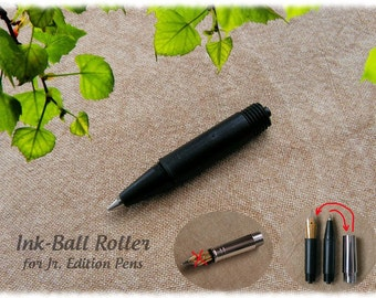 Ink-Ball Adapter for Jr. Edition Pens with Metal Nib Section for use with Fountain Ink Cartridges
