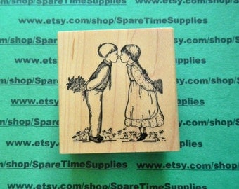 DEL-H749 True Love - Mounted Rubber Stamp