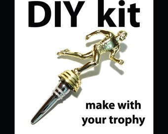 DIY Kit - Trophy Bottle Stopper