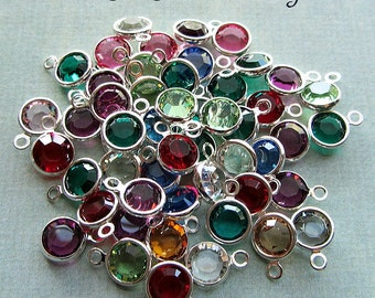 Channel Set Swarovski Crystal Birthstones - for Shannon Westmeyer Jewelry