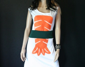 Sushi Dress Halloween Costume Custom Size