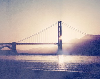 Dusty Blue - San Francisco Golden Gate Bridge Photography Print