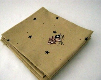 Flags and Stars Past and Presents for Daisy Kingdom Fat Quarter