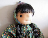 Fiona Hedgeling - Waldorf Inspired Doll - Pumpkinhaus Hedgelings