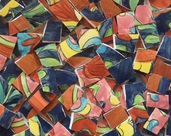 Mosaic Tiles- Capri--Talavera--75 Tiles
