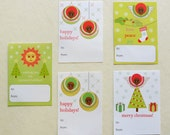 christmas gift sticker labels