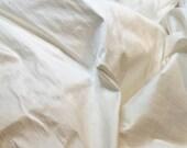 100 o/o dupioni Silk Fabric FQ cultured PEARL - lotsa lovely slubs - perfect for doll house decor crazy quilt fiber arts collage