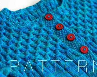 Galway Girl Cardigan (pdf knitting pattern)