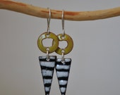 Torch Fired Earrings..... published in Belle Amorie