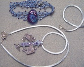 Baby Jewel Dragon Pendant and Bracelet Set 1/10