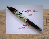 Bead PATTERN Laramie G2 Pen Wrap Peyote or Brick stitch