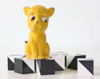 Vintage Yellow Dog