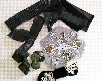 The Ghostess with the Mostest...Fabulous Vintage Trim Findings for Halloween