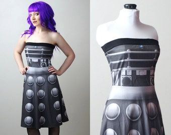 DOCTOR WHO Dalek dress - custom - smarmyclothes cosplay costume