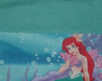 Little mermaid crayon roll