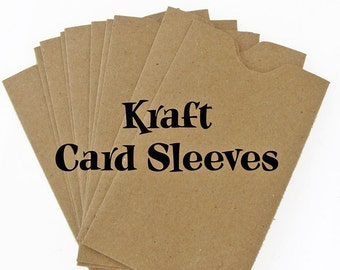 BROWN BAG KRAFT Card Sleeves