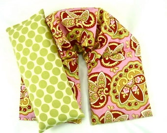 Cold Hot Therapy Pack Set, Neck Wrap Eye Pillow Hot Cold Packs, Heating Pad,Gift Guide Wellness