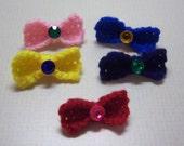 Sailor Moon Crochet Pin