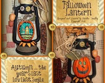 Apple Tree Cottage Original Design E Pattern  -  Falloween Lantern