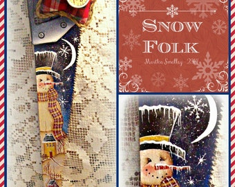 Apple Tree Cottage Original Design E Pattern  - Snow Folk