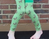 SALE - Holiday Reindeer Leg and Arm Warmers for Boys, Girls - Leggings for Infant, Baby, Toddler, Kid - Fun for Christmas Photos