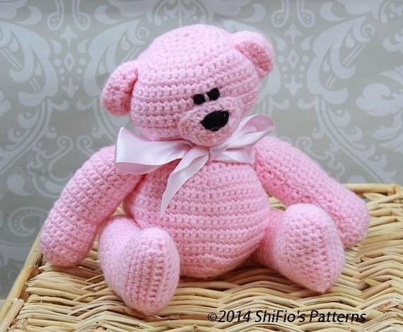 CROCHET PATTERN For Teddy Bear, Toy PDF 132 Digital Download