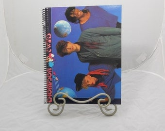 """Thompson Twins """"Into the Gap"""" Original Vinyl Record Cover Notebook"""