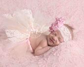 Lace Newborn Baby Tutu Se...