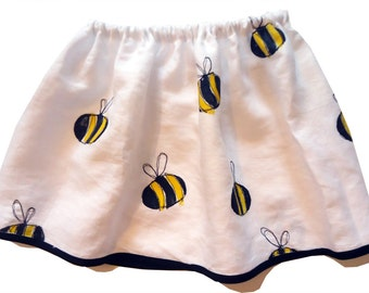 Girl's Bumble Bee Skirt / Girl's / Children's Clothes
