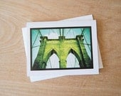 Brooklyn Bridge - 4.25x5.5 Greeting Card