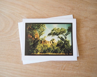 Zion National Park- 4.25x5.5 Greeting Card