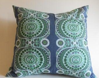 Ty Pennington Impressions Gray Damask Slate Pillow Cover