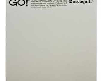 """SALE Accuquilt 6"""" x 6"""" Cutting Mat for Accuquilt Go /Go Baby fabric cutter"""