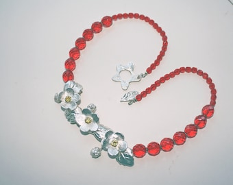 Wild Strawberries Necklace
