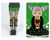 Leggings - Frida Kahlo - Frida Vogue