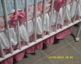Custom Made Crib Skirt Options/ Additions ....Skirt Style Option