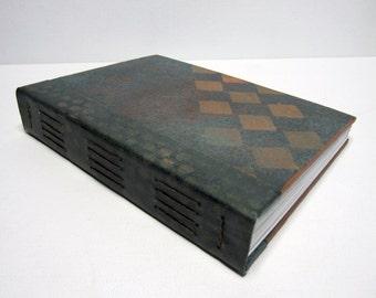 Journal, Art Journal, Visual Journal, Writers Journal, Handbound Book, Guest Book