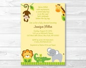 Cute Jungle Animal Baby S...