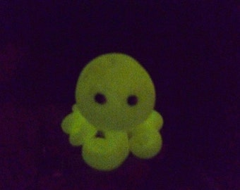Glow in the Dark Octopus Mini Marble Friend