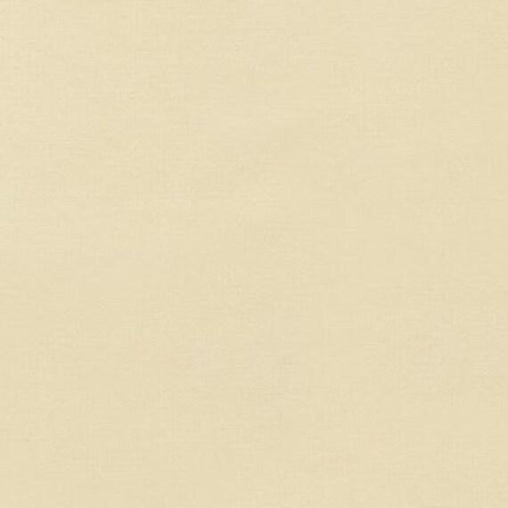 1 yard--Champagne, Kona Cotton Solid, Robert Kaufman Fabrics