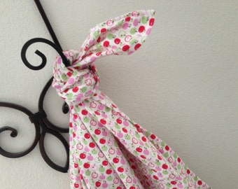 Apples Baby Blanket Flannel Swaddler