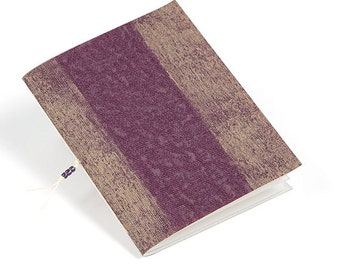 Upcycled jotter notebook, handmade journal, wallpaper journal, eco friendly journal