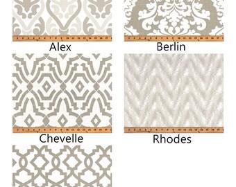 Ecru Pillow Covers Damask Pillows Decorative Pillow Slipcover Cushion Covers Neutral Pillows