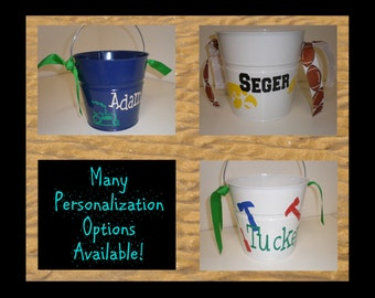 Personalized Pail with your choice of design