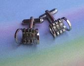 Vintage 60s Industrial Modern MCM Cufflinks
