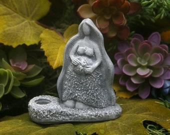 Gaia Goddess - Mother Earth Statue Incense Holder Burner - Great Solstice Gift